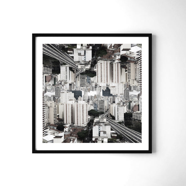 Claustrofobia Urbana 34 - Art Prints by Post Collective - 2