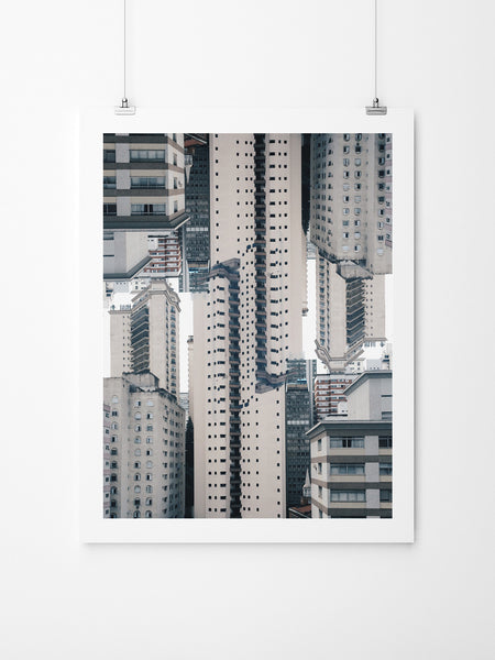 Claustrofobia Urbana 40 - Art Prints by Post Collective - 2