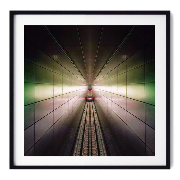 Claustrophic Grid - Art Prints by Post Collective - 1