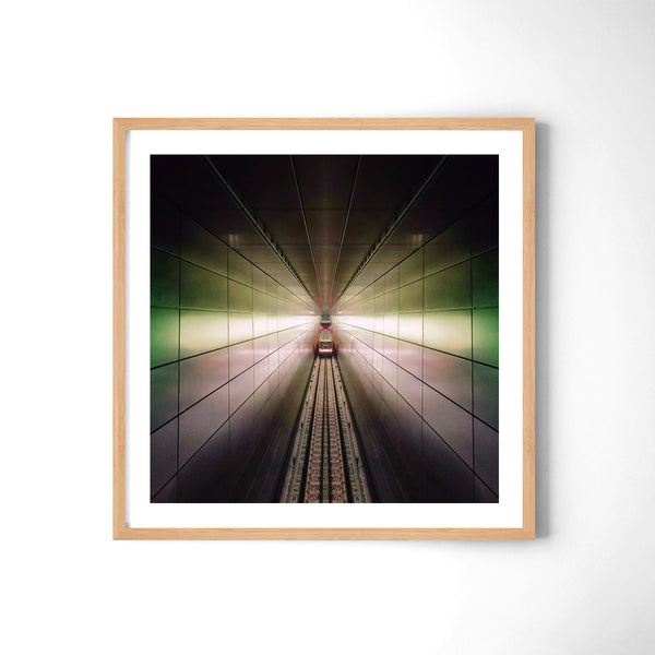 Claustrophic Grid - Art Prints by Post Collective - 3