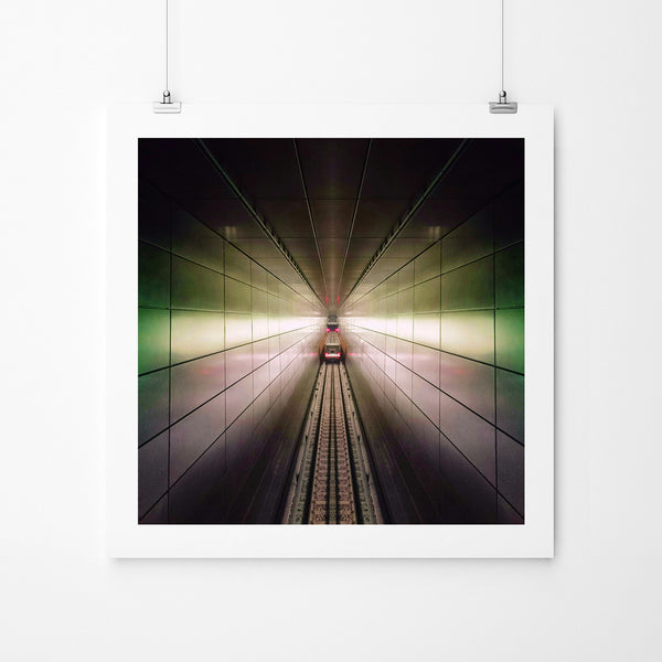 Claustrophic Grid - Art Prints by Post Collective - 2