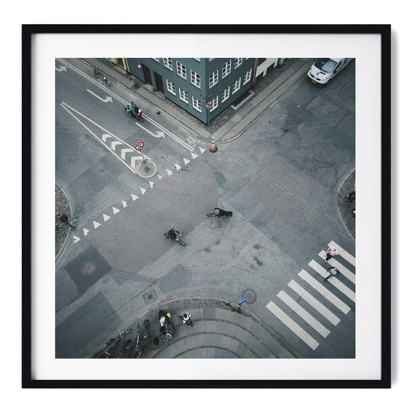 Copenhagen Cyclist Culture - Art Prints by Post Collective - 1
