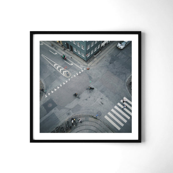 Copenhagen Cyclist Culture - Art Prints by Post Collective - 2