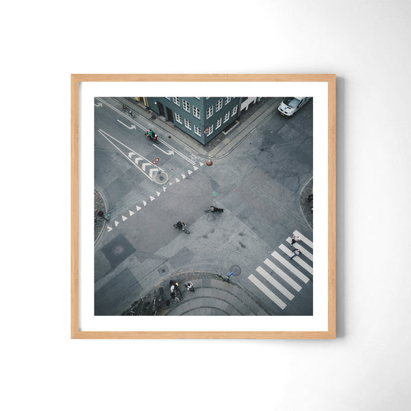 Copenhagen Cyclist Culture - Art Prints by Post Collective - 3