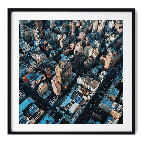 Corners And Rooftops - Art Prints by Post Collective - 1