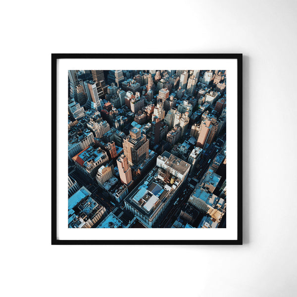 Corners And Rooftops - Art Prints by Post Collective - 2