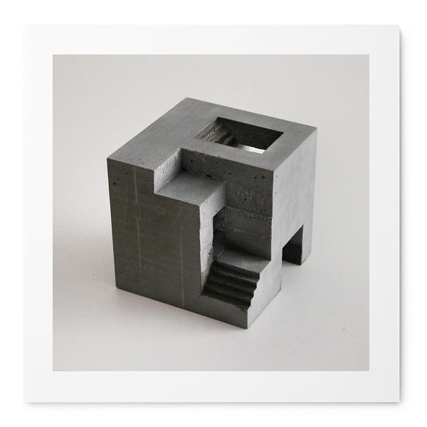 Cube 6-01-2b - Art Prints by Post Collective - 1