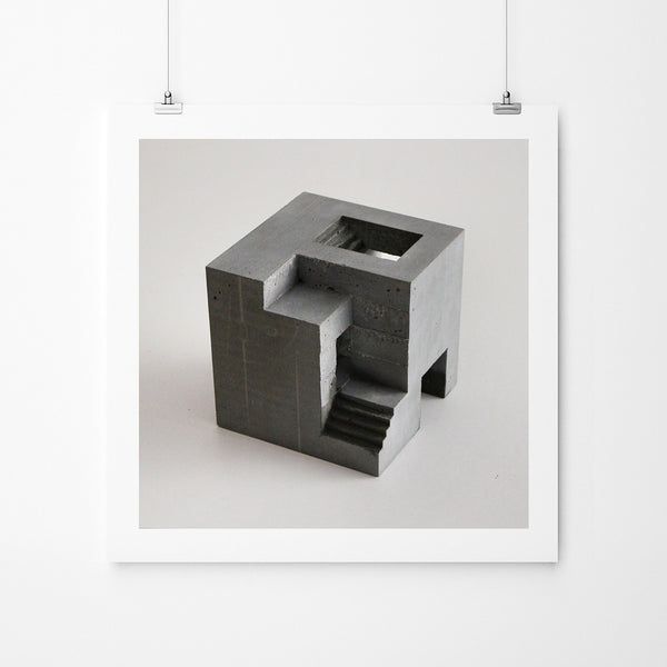 Cube 6-01-2b - Art Prints by Post Collective - 2