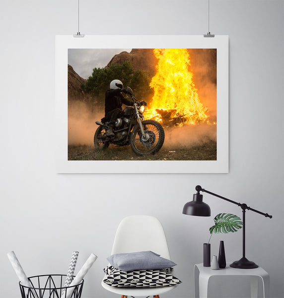 Dirt Burn - Art Prints by Post Collective - 3