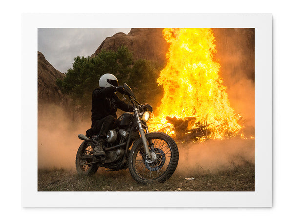 Dirt Burn - Art Prints by Post Collective - 1