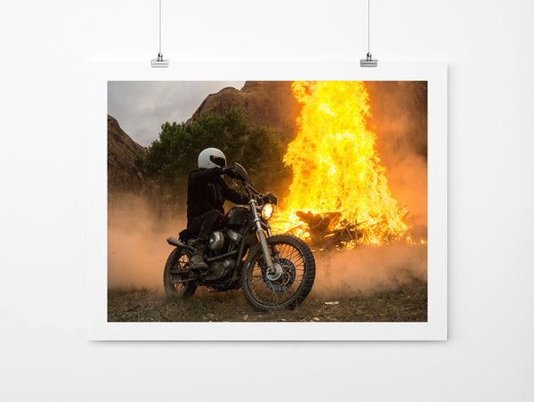 Dirt Burn - Art Prints by Post Collective - 2