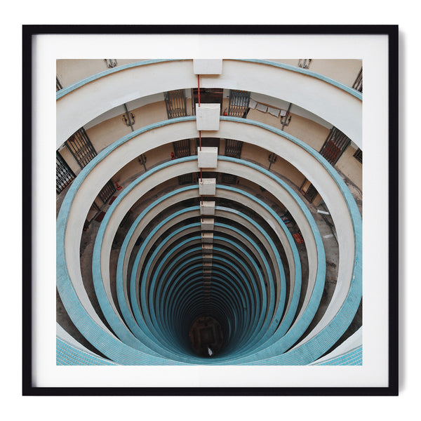 Dont Look Down - Art Prints by Post Collective - 1