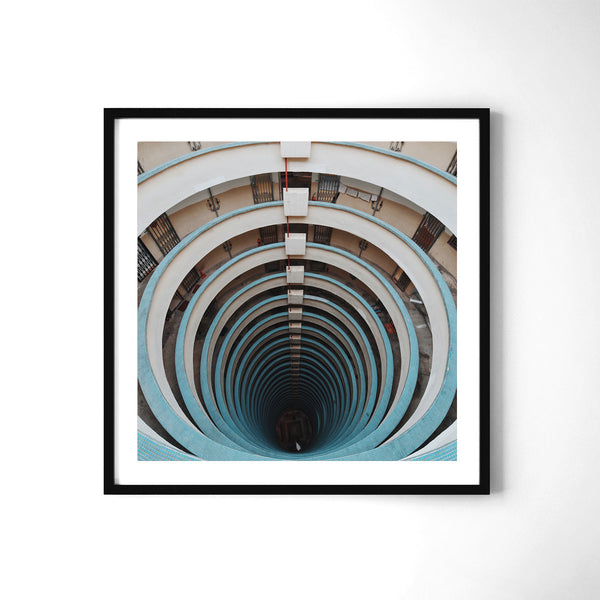 Dont Look Down - Art Prints by Post Collective - 2