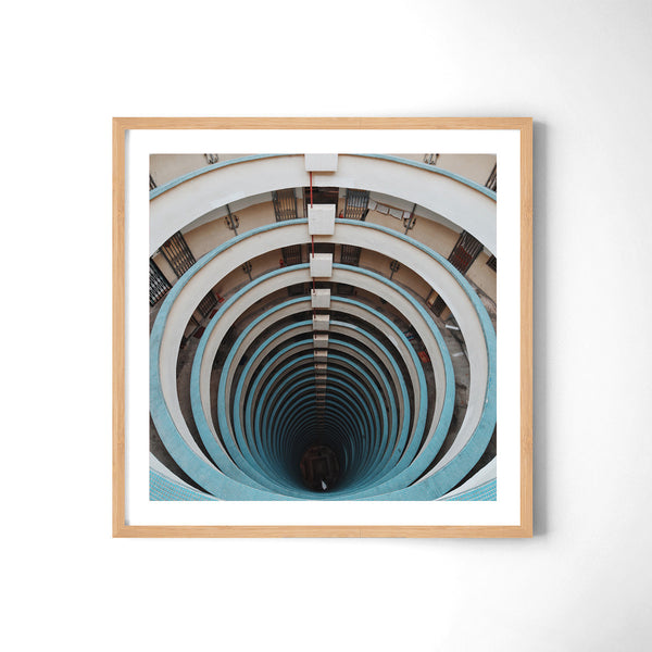 Dont Look Down - Art Prints by Post Collective - 3