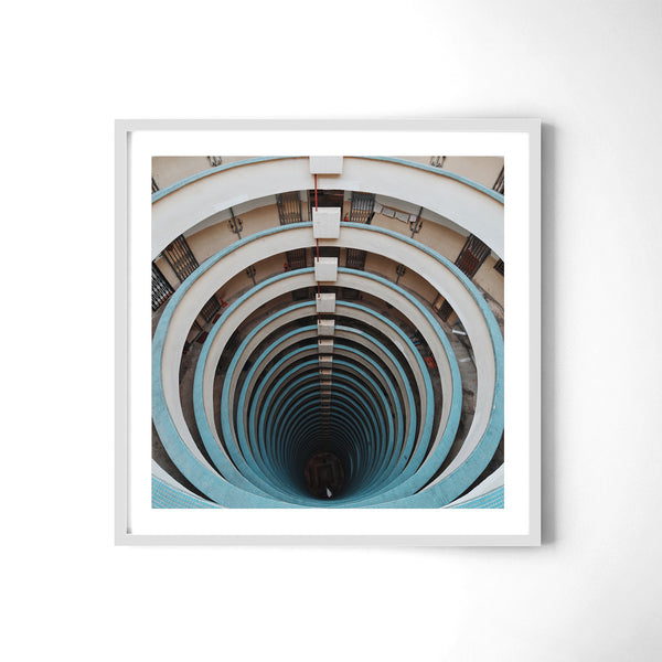 Dont Look Down - Art Prints by Post Collective - 4