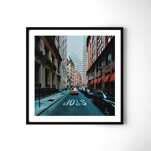 Don't Stop - Art Prints by Post Collective - 2