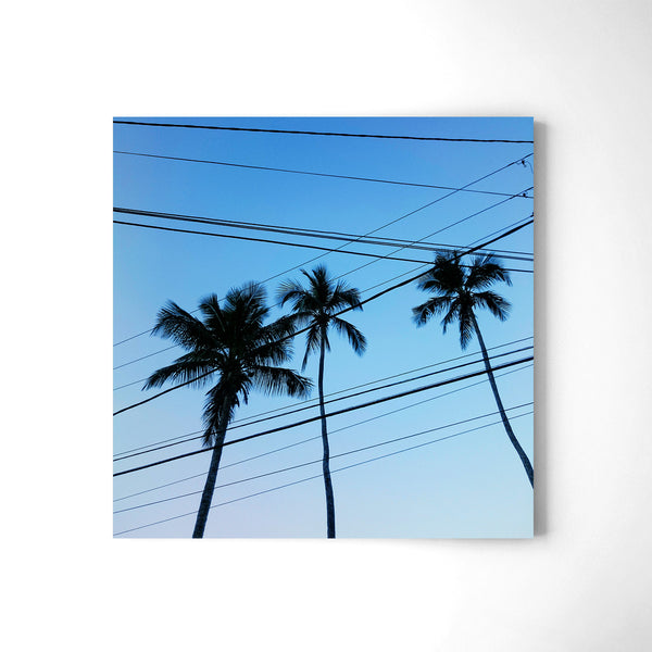 Electrical Palm Lines - Art Prints by Post Collective - 2