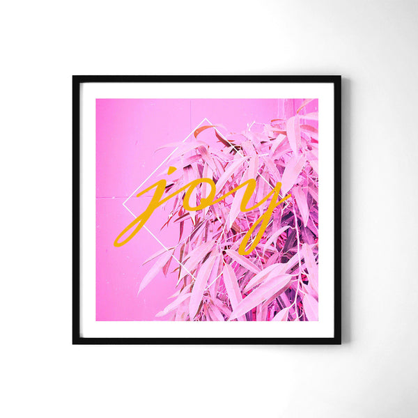 Enjoy - Art Prints by Post Collective - 2