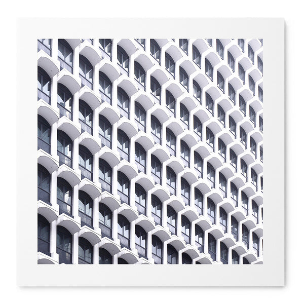 Facade Of Windows - Art Prints by Post Collective - 1