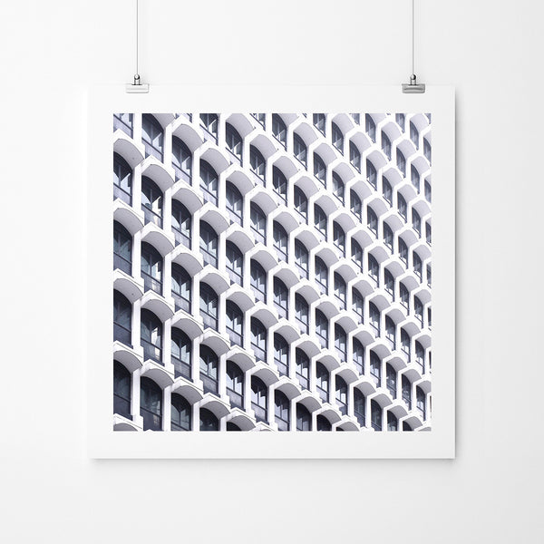 Facade Of Windows - Art Prints by Post Collective - 2