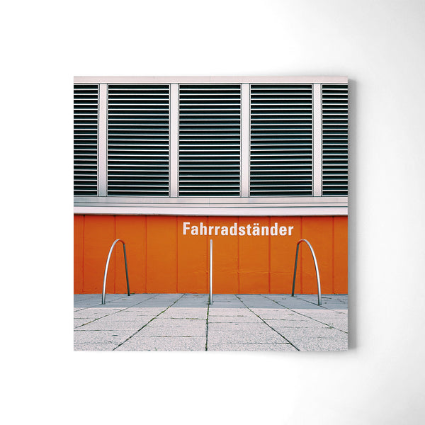 Fahrradst��nder = Bike Racks - Art Prints by Post Collective - 2