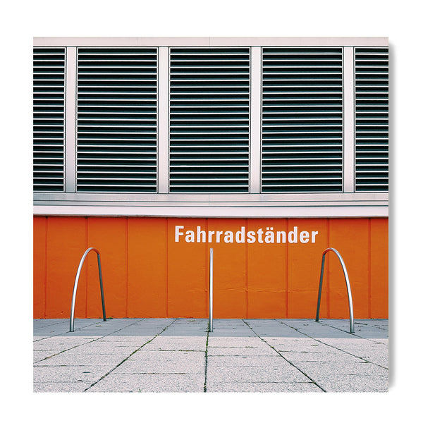 Fahrradst��nder = Bike Racks - Art Prints by Post Collective - 1