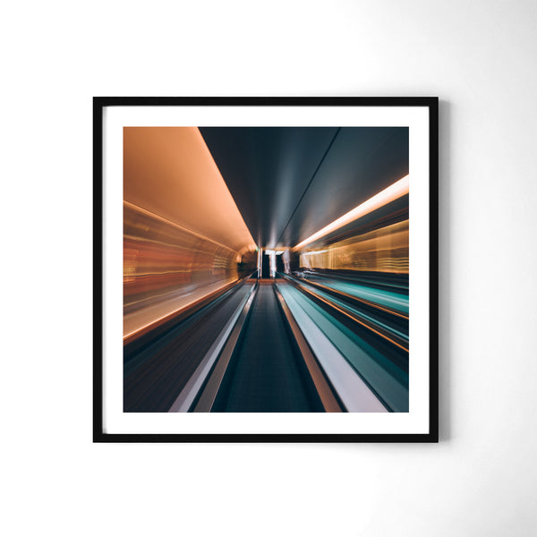 Fast-Paced Singapore - Art Prints by Post Collective - 2