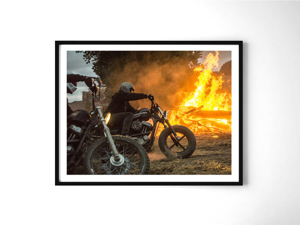 Fire In Your Eyes - Art Prints by Post Collective - 2