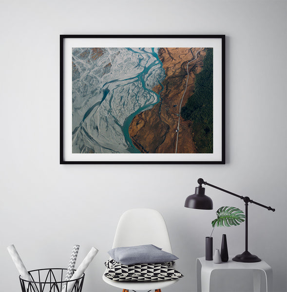 Glacier River - Art Prints by Post Collective - 5