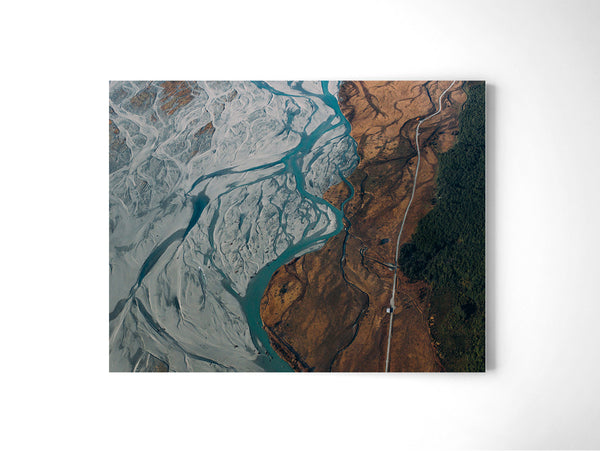Glacier River - Art Prints by Post Collective - 2