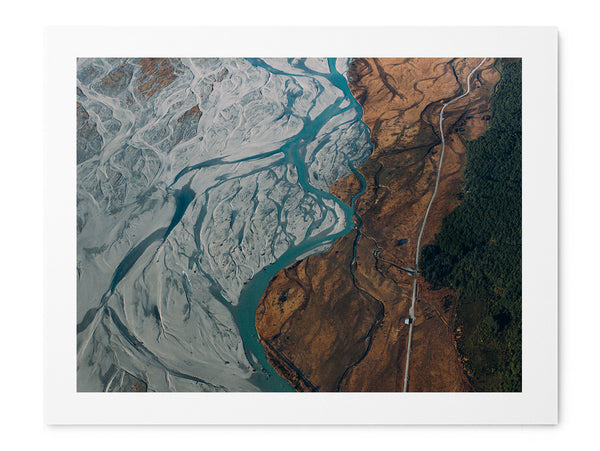 Glacier River - Art Prints by Post Collective - 1