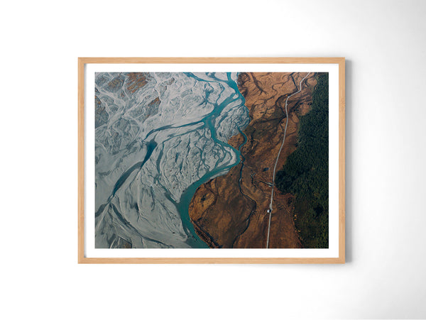 Glacier River - Art Prints by Post Collective - 3