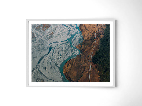 Glacier River - Art Prints by Post Collective - 4