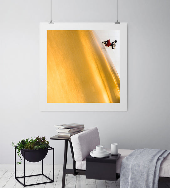 Golden Drop - Art Prints by Post Collective - 3