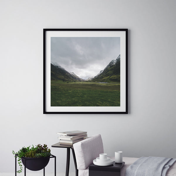 Green Glencoe - Art Prints by Post Collective - 5