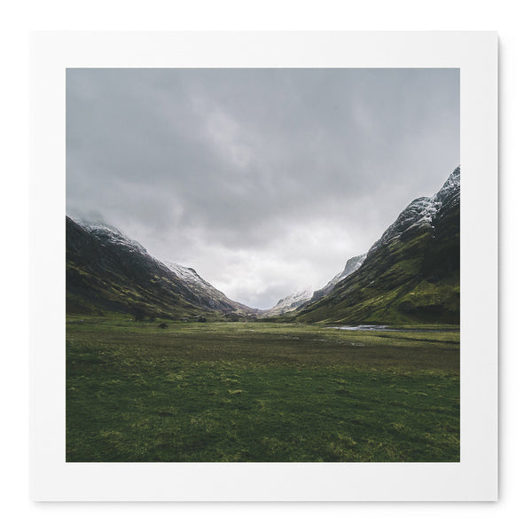Green Glencoe - Art Prints by Post Collective - 1