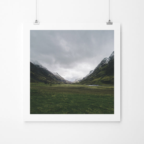 Green Glencoe - Art Prints by Post Collective - 2