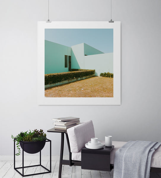 Green Shadows - Art Prints by Post Collective - 3