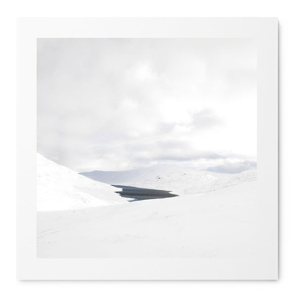 Hidden Lake In The Mamores - Art Prints by Post Collective - 1