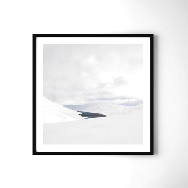 Hidden Lake In The Mamores - Art Prints by Post Collective - 2