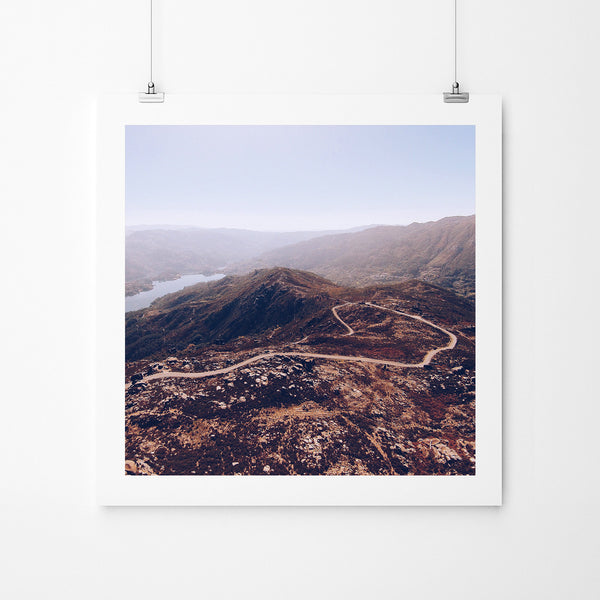 High Mountain Flight - Art Prints by Post Collective - 2