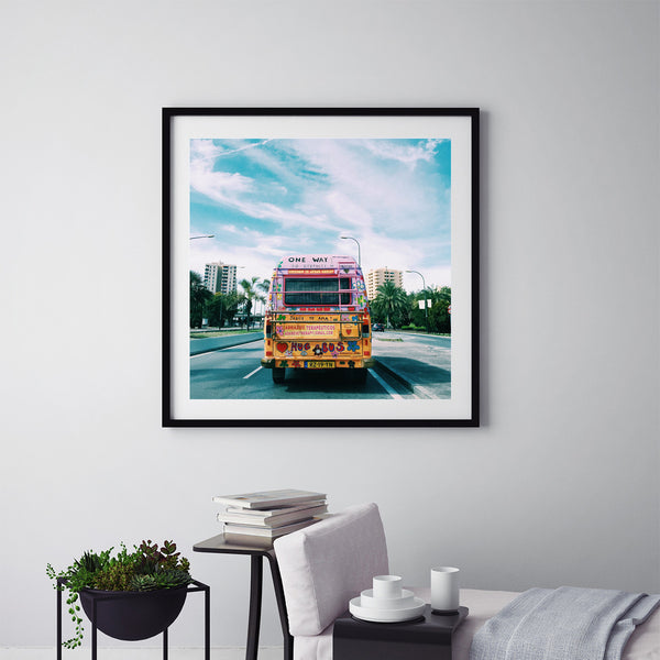 Hippie Bus - Art Prints by Post Collective - 5