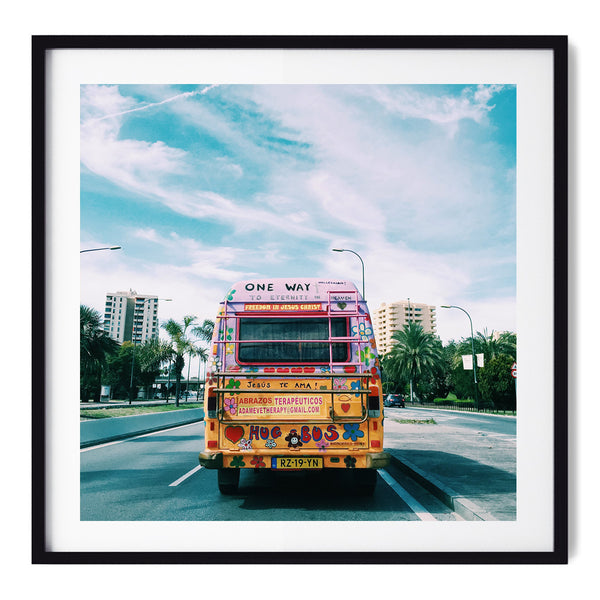 Hippie Bus - Art Prints by Post Collective - 1