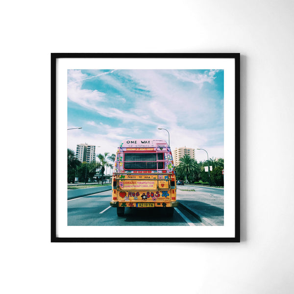 Hippie Bus - Art Prints by Post Collective - 2