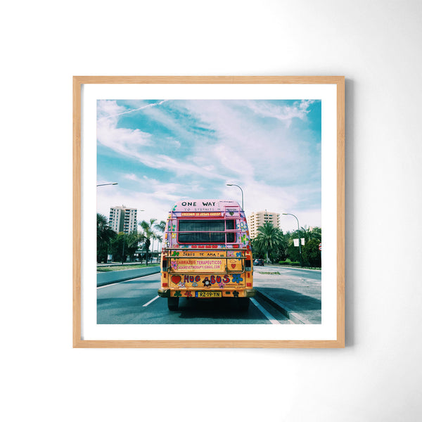 Hippie Bus - Art Prints by Post Collective - 3