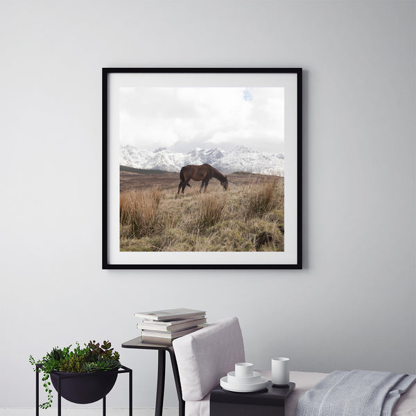 Horse In The Cuillins - Art Prints by Post Collective - 5