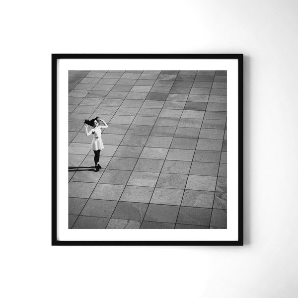 Icarus In A White Dress - Art Prints by Post Collective - 2