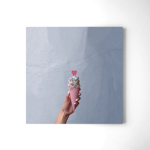 Ice Cream Love - Art Prints by Post Collective - 2