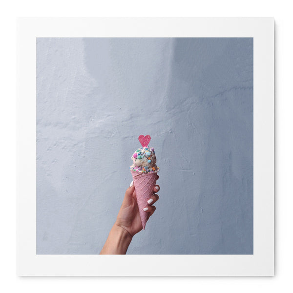 Ice Cream Love - Art Prints by Post Collective - 1