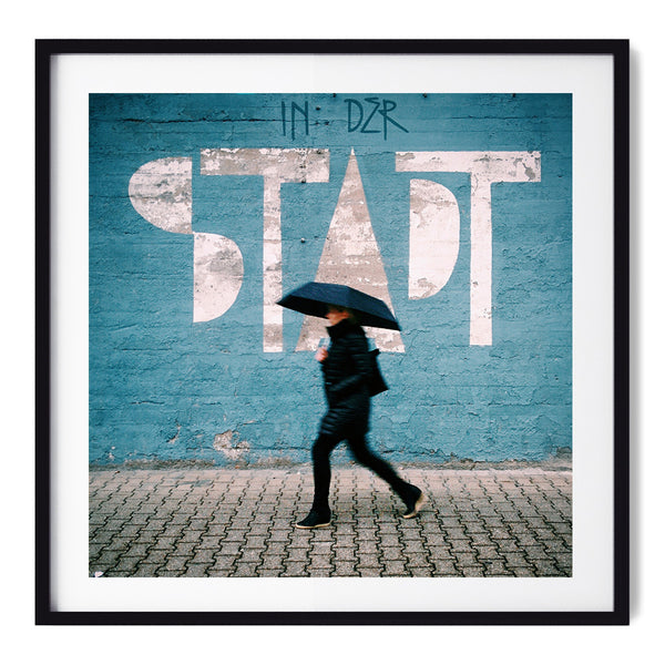 In der Stadt = in the city - Art Prints by Post Collective - 1